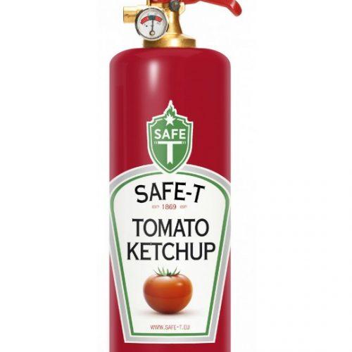 Feuerlöscher Ketchup