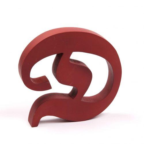 Holzbuchstaben D