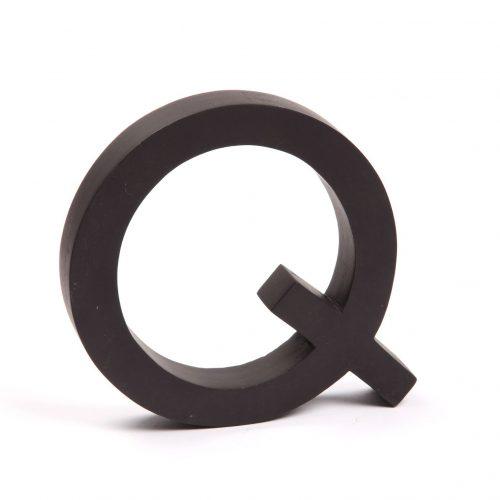 Holzbuchstaben Q