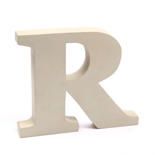 Holzbuchstaben R