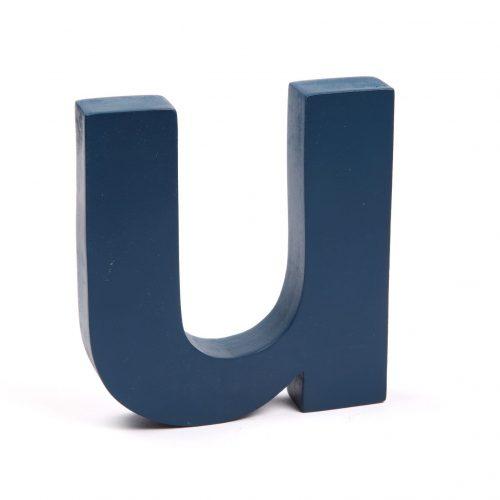 Holzbuchstaben U