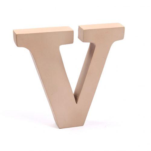 Holzbuchstaben V