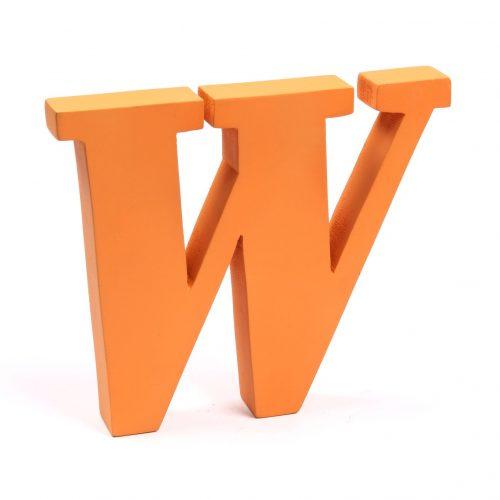 Holzbuchstaben W